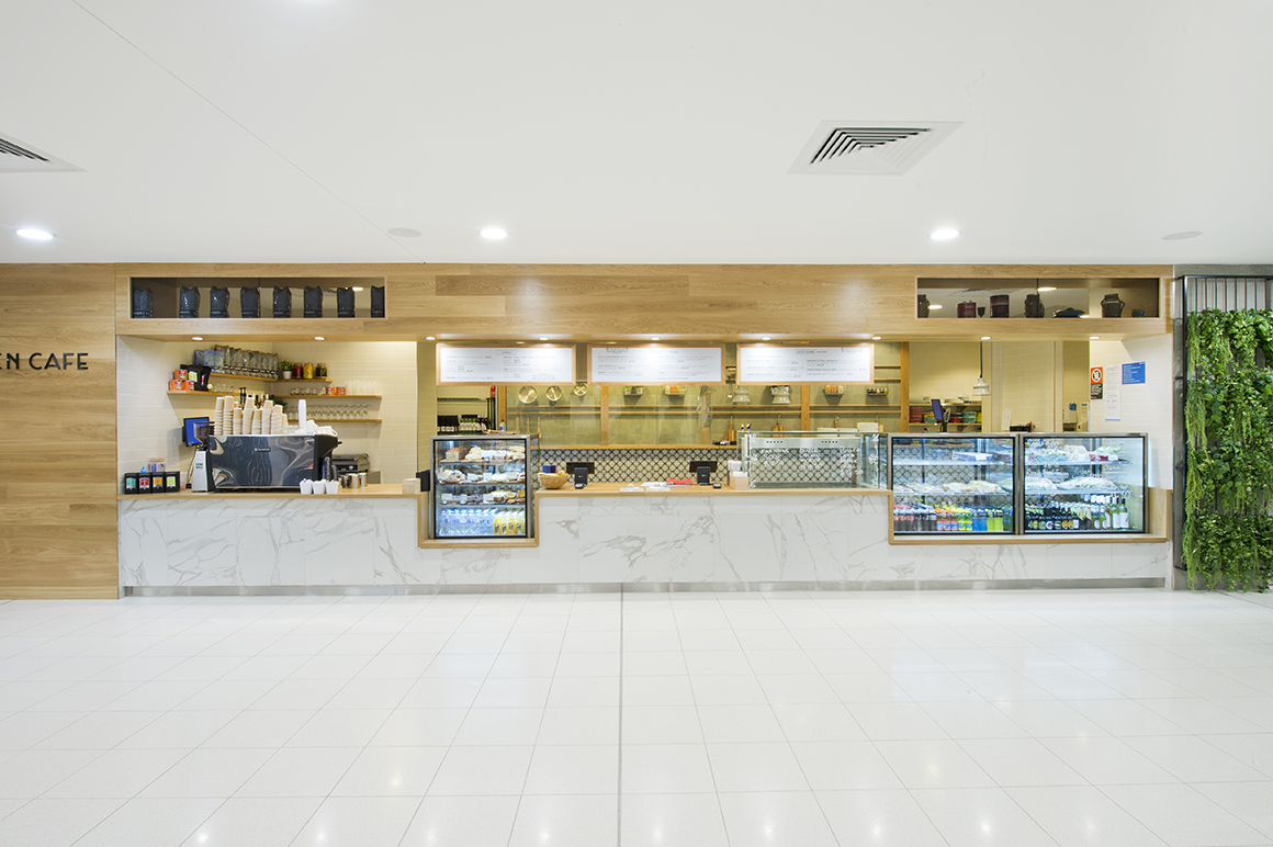 Newcastle Airport Retail Project Management Work Shac