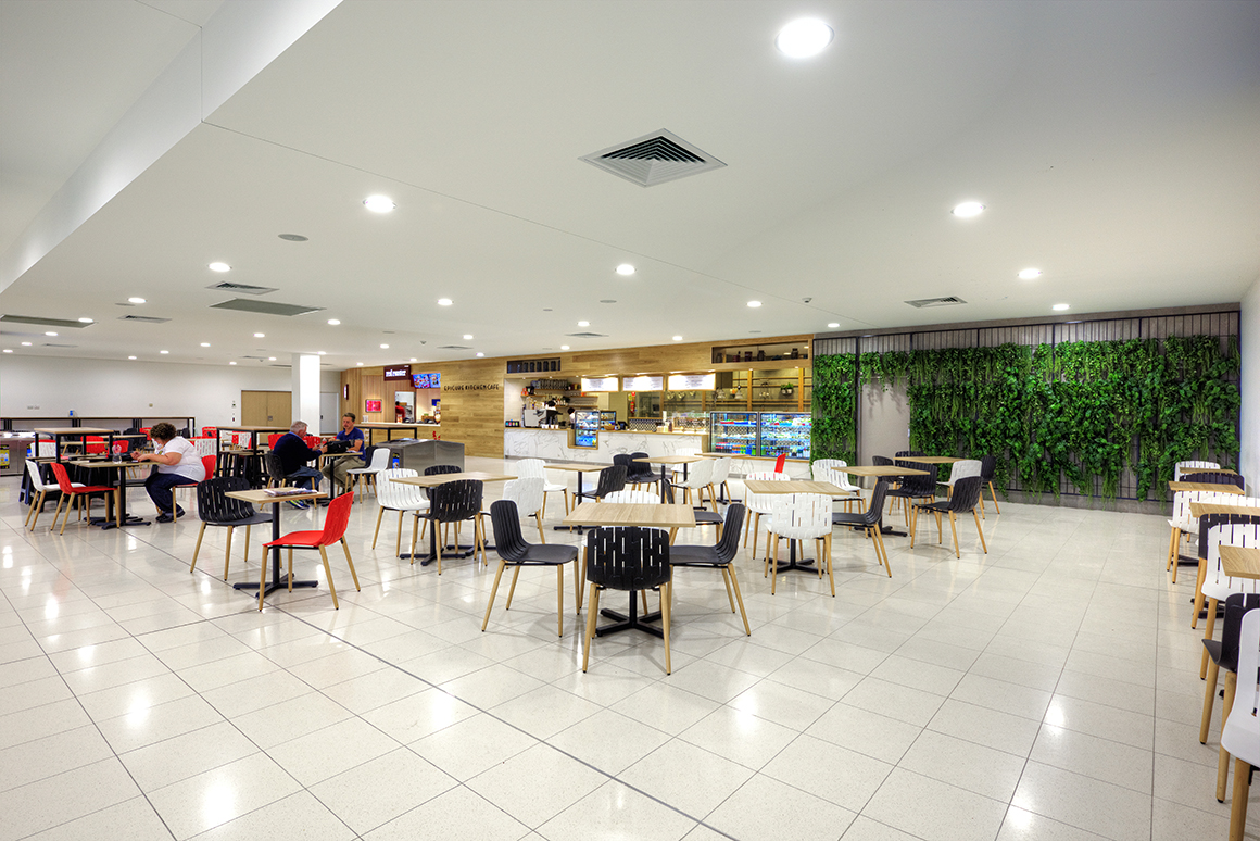 Newcastle Airport Retail Project Management